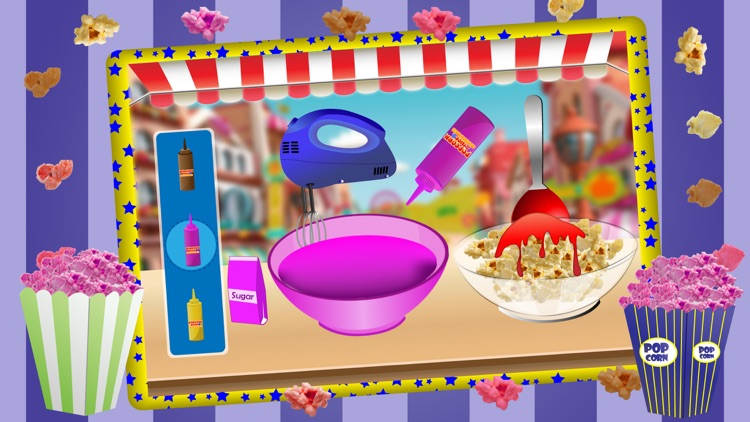 Popcorn Maker Cooking Games for kids screenshot-3