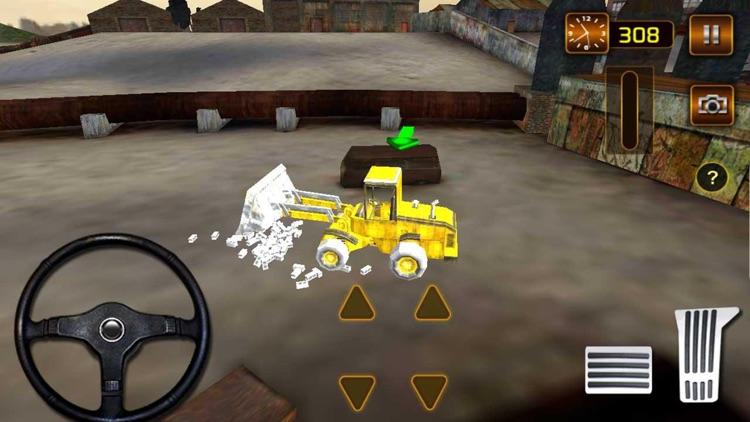 Construction City Truck Loader Operator screenshot-4