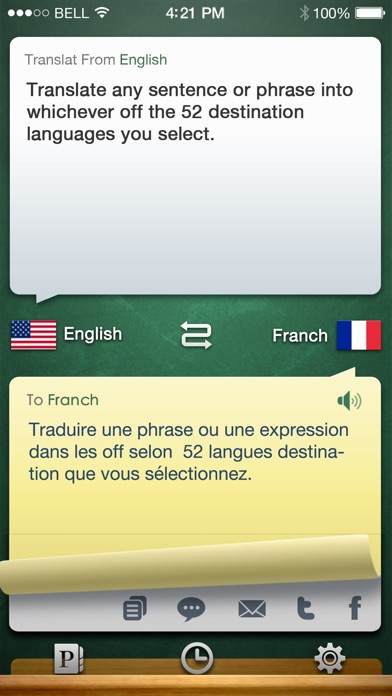 iHandy Translator Pro Screenshot