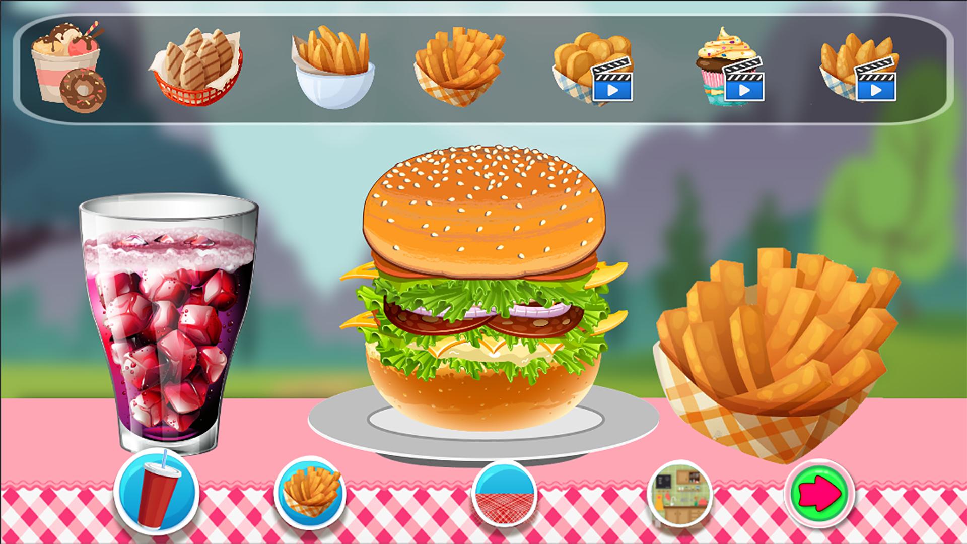 Burger Maker Pro 2016 screenshot 1