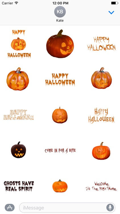 Halloween Stickers - Stickers for iMessage