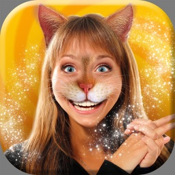 Cat Woman Photo Montage - Cute Kitty Face Changer in the Best Animal Picture Editing App