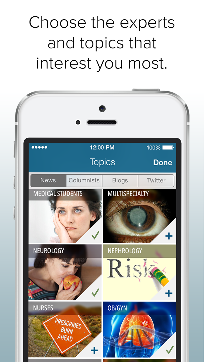 Medscape MedPulse Screenshot