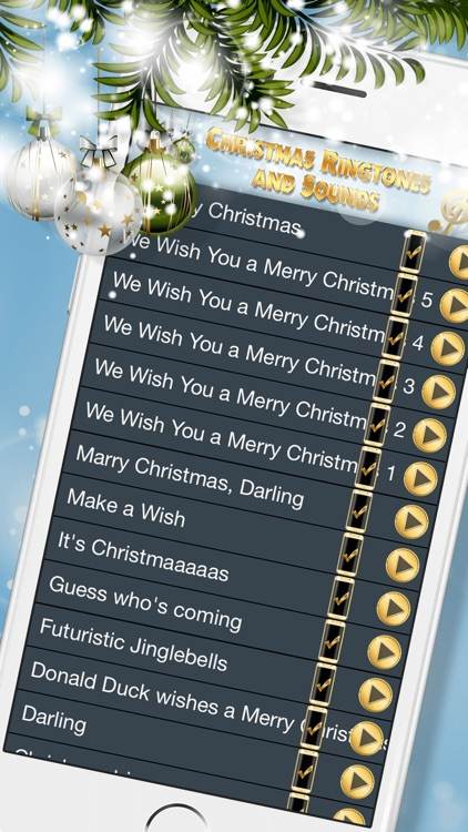 christmas ringtones and sounds best free music - Free Christmas Ringtone