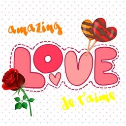 Romantic Stickers