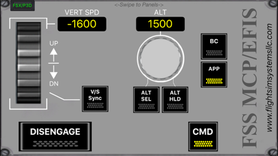 FSS MCP/EFIS screenshot two