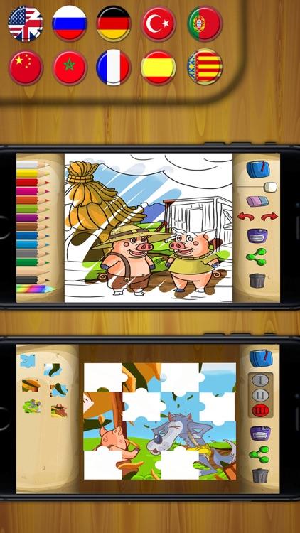 Three Little Pigs Classic tales - PRO