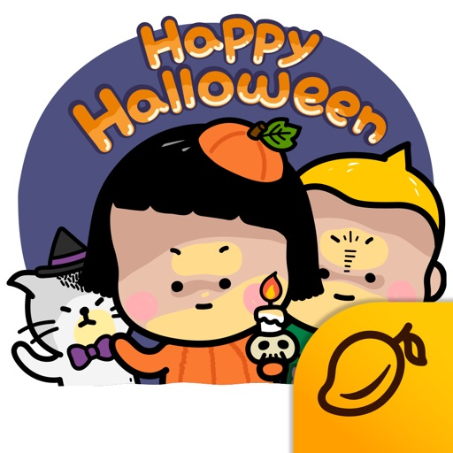 Happy Halloween with MiM! - Mango Sticker