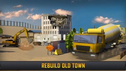 Hill Construction Crane Operator & Truck Driver 3D