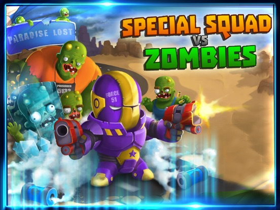 Zombies Dead Frontier Vs Special Squad heroes Pro-ipad-1