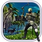 真正的弓箭手野生动物园 - 新丛林狩猎2017游戏