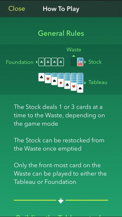 Solitaire 7: A quality app to play Klondike screenshot-3