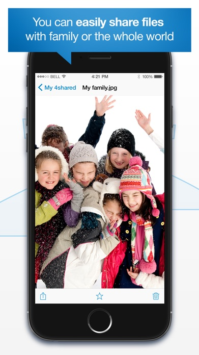 4shared Mobile Screenshot