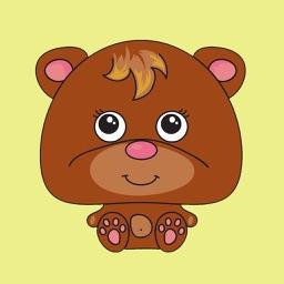 Animal Funny Sticker Pack 02