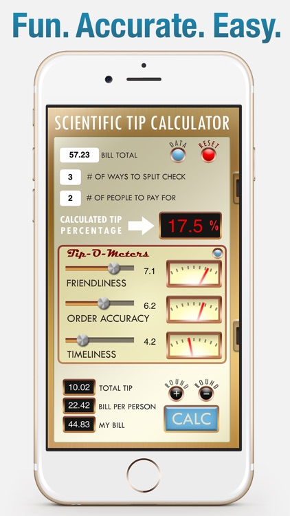 Tip-O-Meter - The Scientific Tip Calculator
