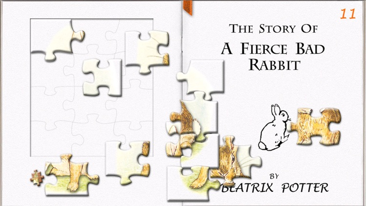 The Story of A Fierce Bad Rabbit LITE