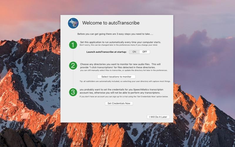 autoTranscribe скриншот программы 1