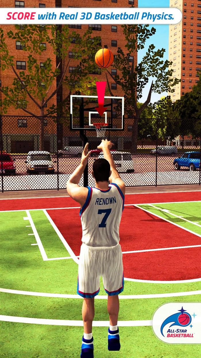 All-Star BASKETBALL Screenshot