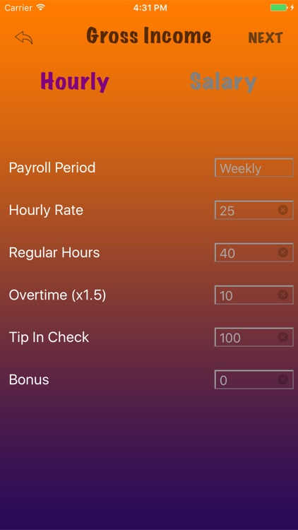 Quick Paycheck screenshot-2
