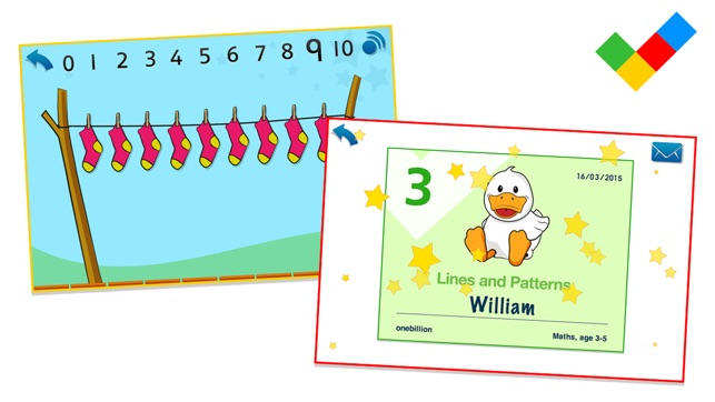 Maths, age 3-5 on the App Store