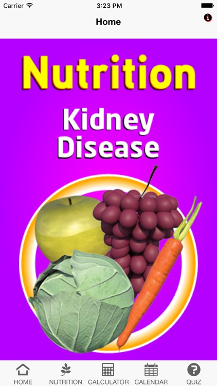 Nutrition Kidney Disease screenshot-0