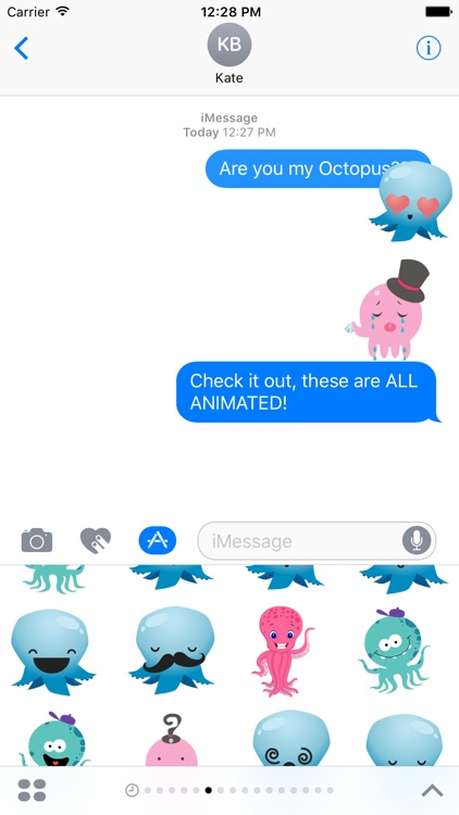 Octopus Stickers