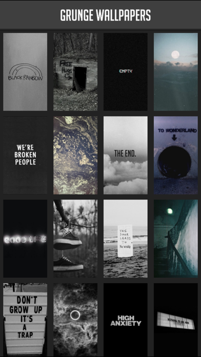 Grunge Wallpapers By Atlas Labs Ios United States Searchman