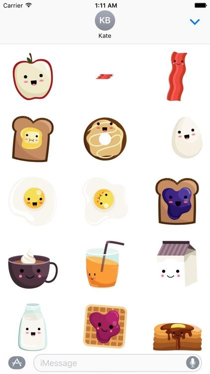Breakfast Stickers