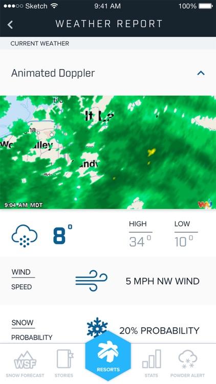 Ski Utah Snow Report screenshot-4