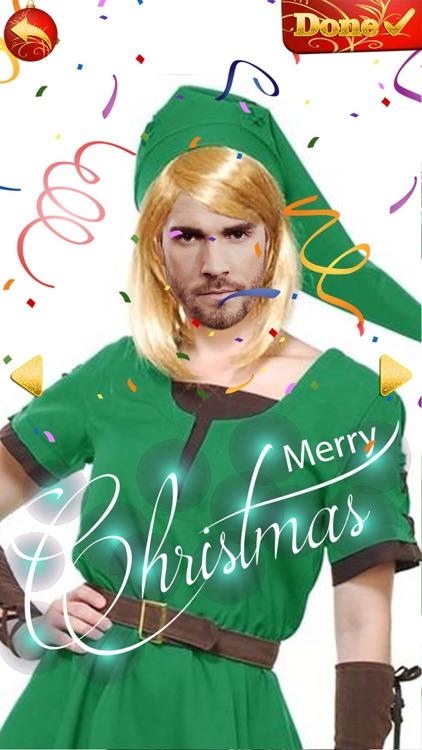 Elf Yourself - Christmas Photo Editor Cam Stickers screenshot-3