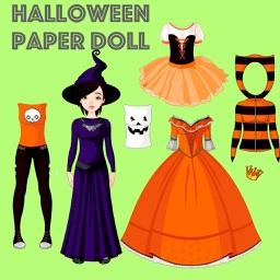 Halloween Paper Doll