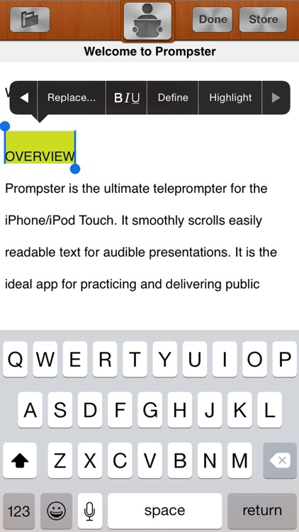 Prompster™ - Teleprompter screenshot-3