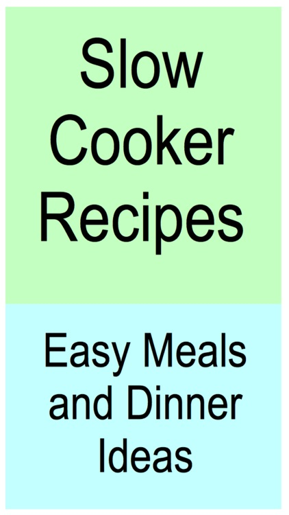 Slow Cooker Recipes - Easy Meals and Dinner Ideas