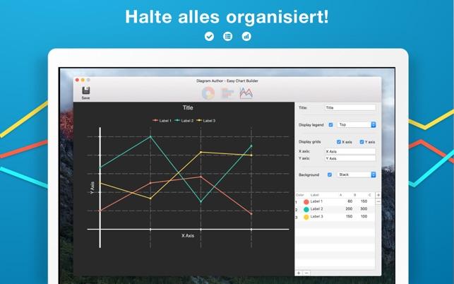 Diagrammautor - Grafik Bauen Screenshot