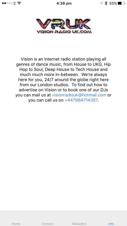 Vision Radio UK screenshot-3
