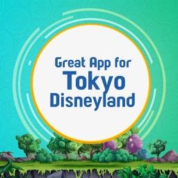 Great App for Tokyo Disneyland