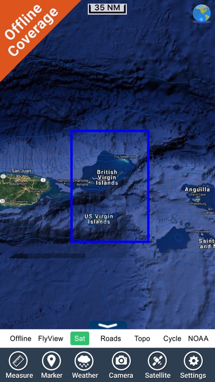 Virgin Islands - GPS Map Navigator screenshot-4