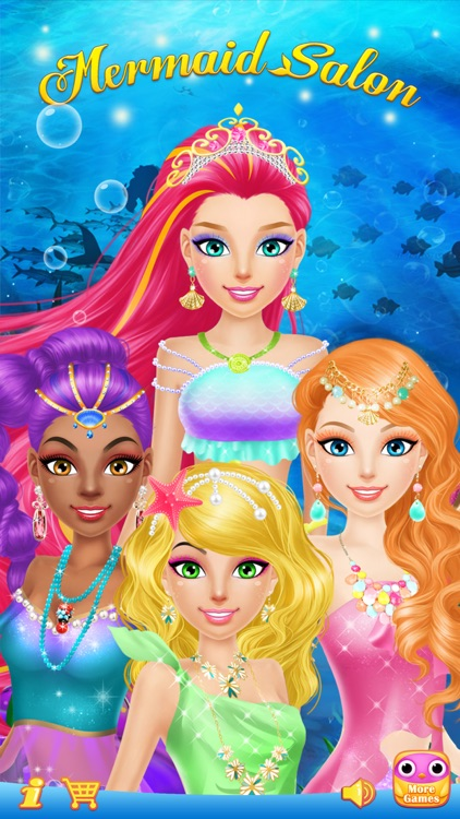 Mermaid Salon™ - Girls Makeup, Dressup and Makeover Games