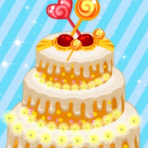 菲菲做公主婚礼蛋糕