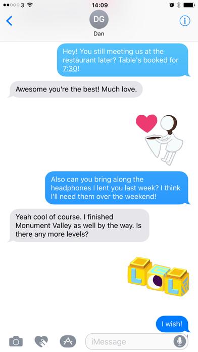Скриншот №2 к Monument Valley Stickers