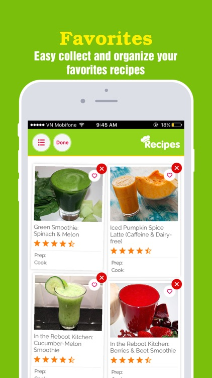 Super-Healthy Smoothie Recipes Pro screenshot-3