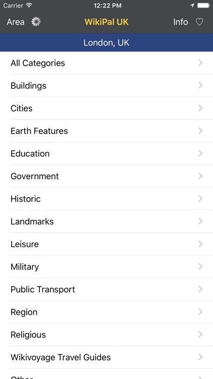 WikiPal UK - Offline Wikipedia Places screenshot-4