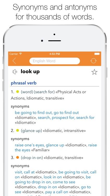 English Thesaurus screenshot-0
