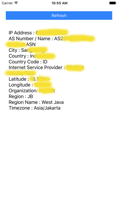 My ip address lookup