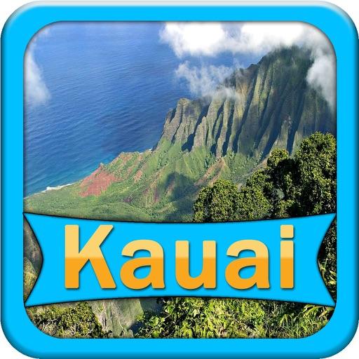 Kauai - Hawaii Offline Map Travel Guide