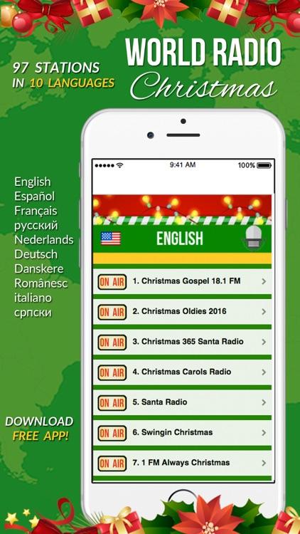 World Radio Stations Christmas screenshot-4