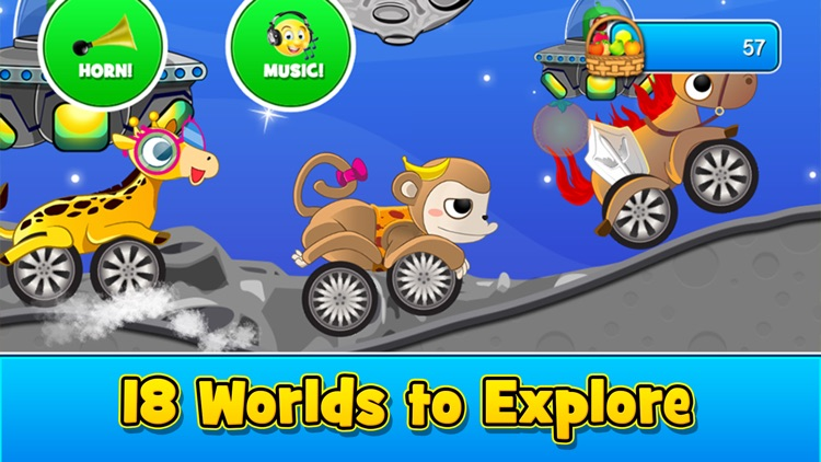 Animal Cars Kids Racing Game screenshot-2