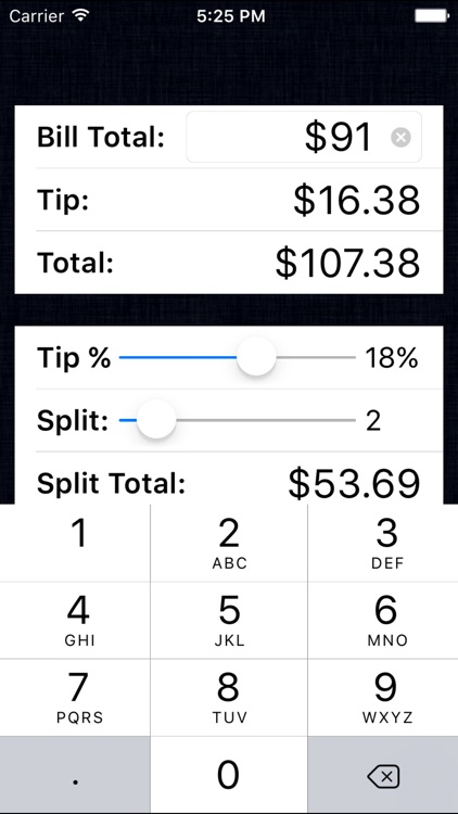 Tip Calculator % Free - Fast Tips and Split Bills
