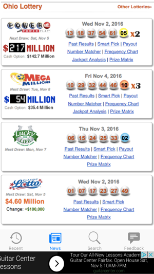 Ohio Lotto Results on the App Store