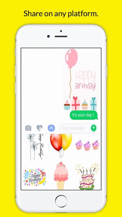 BirthdayMojis: Emoji Keyboard App